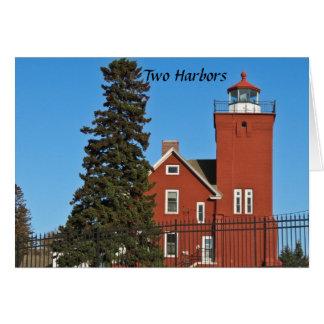 Two Harbors Minnesota Card