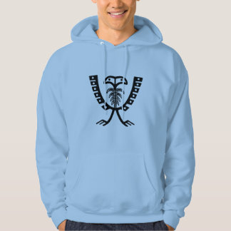 Two Headed Black Eagle Hoodie