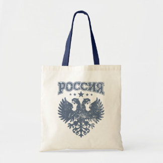 Two Headed Russian Eagle Symbol Tote Bag