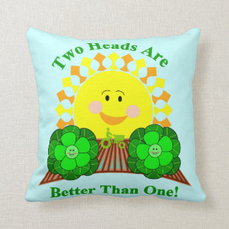 Two Heads Are Better Than One Cushion