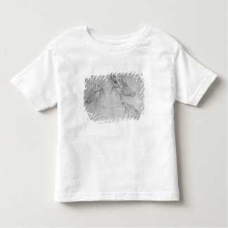 Two heads of stags, one head of a doe toddler T-Shirt