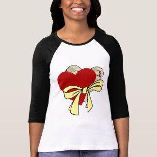 Two hearts and yellow ribbon T-Shirt