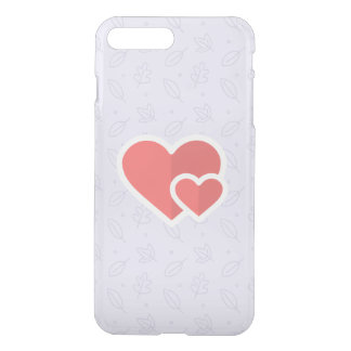 Two Hearts Are Better Than One! iPhone 8 Plus/7 Plus Case