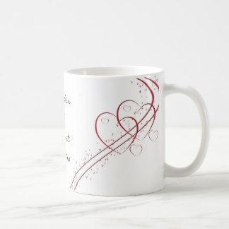 Two Hearts as One Coffee Mug
