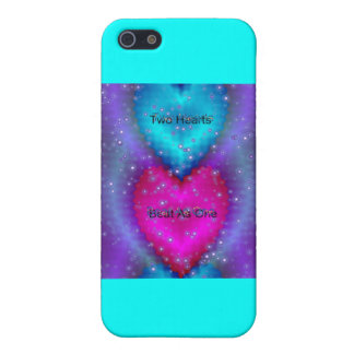 """""""Two Hearts Beat As One""""* iPhone 5 Covers"""