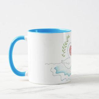 Two hearts beat as one mug