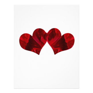 Two hearts Beating As One 21.5 Cm X 28 Cm Flyer