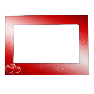 Two hearts forever magnetic picture frame