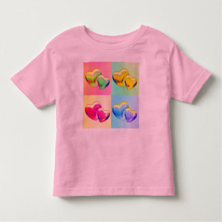 Two Hearts in a Square Shirt