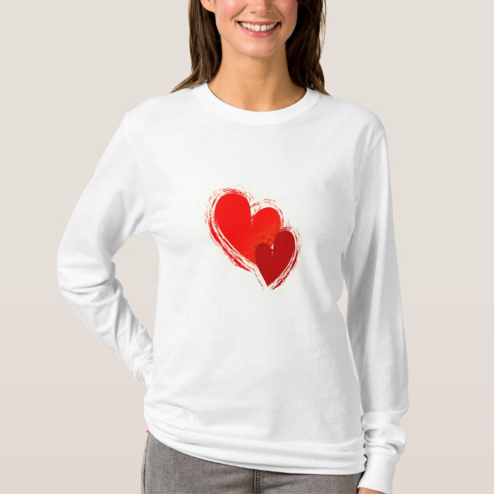 Two hearts in love T-Shirt