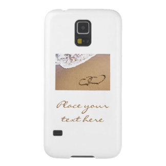 Two Hearts In The Sand Galaxy S5 Covers