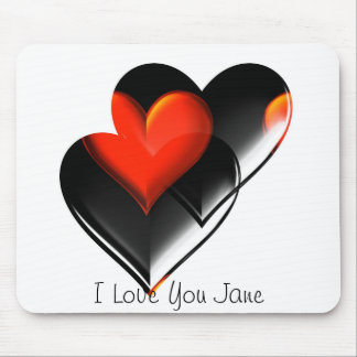 """Two Hearts""* Mouse Pad"
