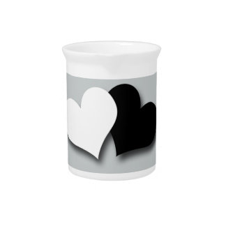 Two Hearts Drink Pitchers