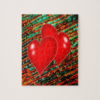 Two Hearts Jigsaw Puzzle
