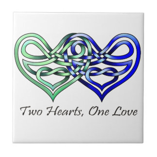 Two Hearts Tile