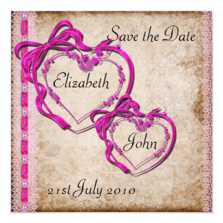 Two Hearts Together Invitation