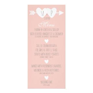 Two Hearts Wedding Rack Card