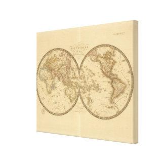 Two Hemispheres Canvas Print