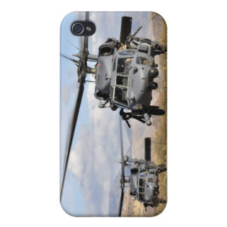 Two HH-60 Pavehawk helicopters preparing to lan iPhone 4 Covers