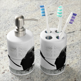 two-high rolling mill bird toothbrush holders
