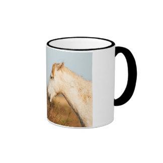 Two horses of Camargue Ringer Mug