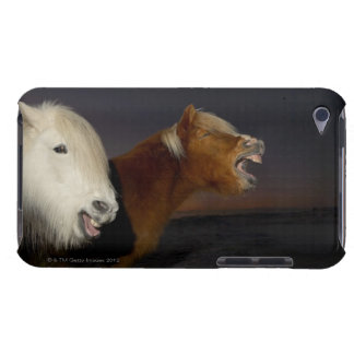 Two Icelandic horses iPod Touch Case