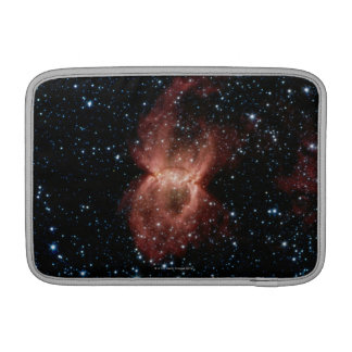 Two Illuminated Bubbles MacBook Sleeve