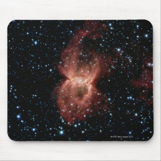 Two Illuminated Bubbles Mouse Mat