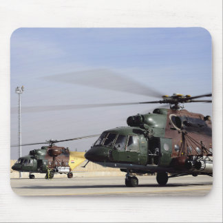 Two Iraqi Mi-17 Hip Helicopters Mouse Mat