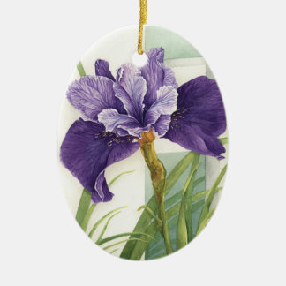 Two Irises - Ornament