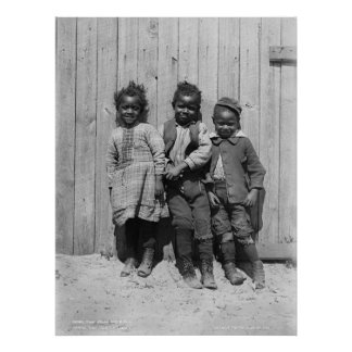Two Jacks and a Jill African American Children Print