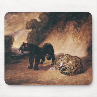 Two Jaguars from Peru Mouse Mat