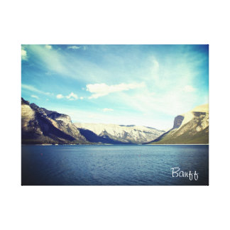 Two Jake Lakes, Banff, Canada Canvas Print
