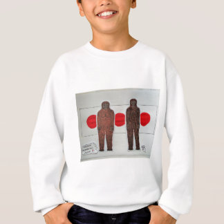 two japanes hibagon with 3 flag sweatshirt