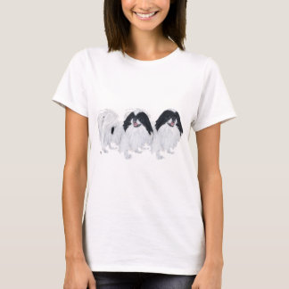 Two Japanese Chin Dogs T-Shirt
