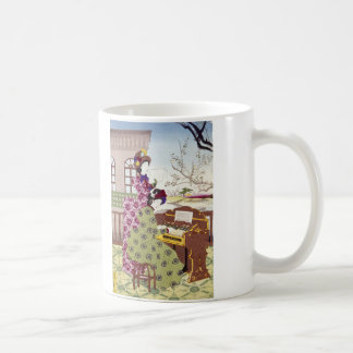 Two Japanese Ladies, C1890 Coffee Mug