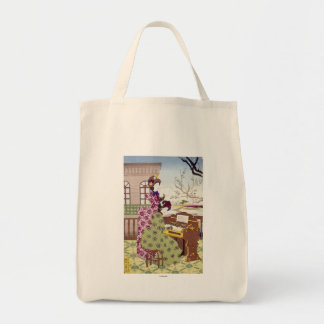 Two Japanese Ladies, C1890 Tote Bag