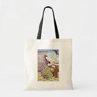 Two Japanese Ladies, C1890 Tote Bag
