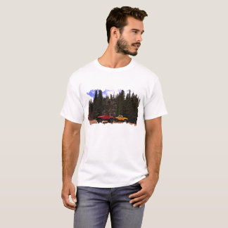 Two Jeeps & Mountains Are All You Need T-Shirt