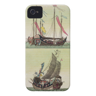 Two kinds of Chinese Junk, illustration from 'Le C iPhone 4 Case-Mate Case