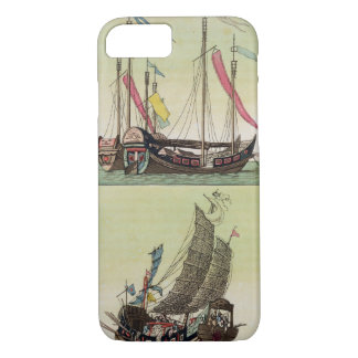 Two kinds of Chinese Junk, illustration from 'Le C iPhone 8/7 Case