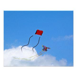 Two kites Photo