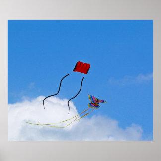 Two Kites Poster