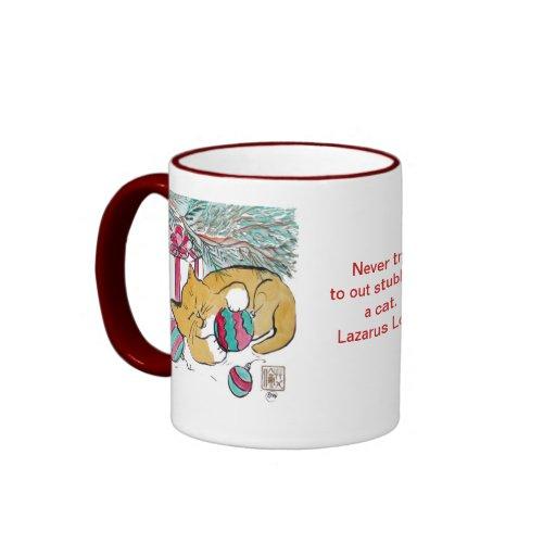 Two Kittens & Christmas fun Coffee Mug