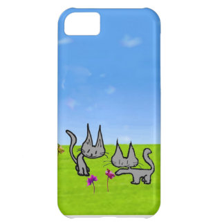 Two Kittens Loving The Summer iPhone 5C Covers