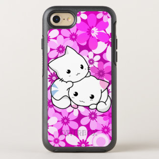 Two Kittens On Pink OtterBox Symmetry iPhone 8/7 Case