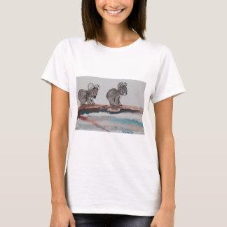 Two Koala Watercolor T-Shirt