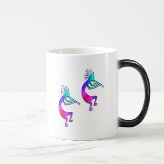 Two Kokopelli #103 Magic Mug