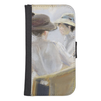 Two Ladies by the Water Samsung S4 Wallet Case