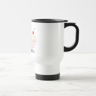 Two Large Cupcakes Stainless Steel Travel Mug